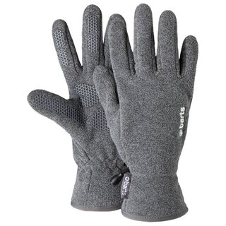 BARTS Fleece Gloves Kids heathergrey