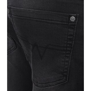 blue effect 5-Pocket Jeans black soft used