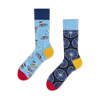 Socken The Bicycles von Many Mornings 39/42