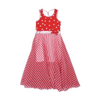 Lofff Dress Barcelona red white