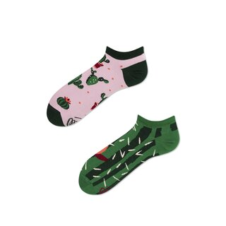 Socken Low Summer Cactus  von Many Mornings