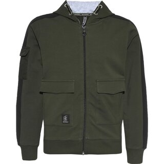 Blue Effect Boys Sweat Jacke army green