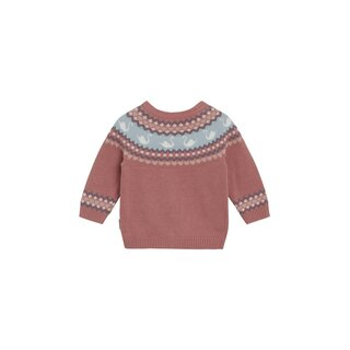 Hust&Claire Charme Cardigan old rose